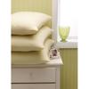 "Linens & Bedding: Medline - Stay-Fluff Pillows, Tan, 20"" x 26"""