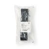 Medline Washable Cotton Material Gait Belts, Black, 1/EA MED MDT821203BL