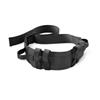 Medline Wide Transfer Belt with Handles, Black MED MDT821203BLCH