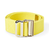 Medline Washable Cotton Material Gait Belts, Yellow, 1/EA MED MDT821203YS