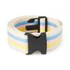 Medline Belt, Gait, Cotton, Pastel, 60, Plastic Buckle MED MDT821208PAS