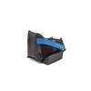 Medline HEELMEDIX Advanced Heel Protectors, Black, Standard MED MDT823330SW