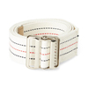Medline Washable Cotton Material Gait Belts, Red, White & Blue Stripes, 6 EA/CS MEDMDT828203