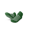 Medline Slipper, Double-Tread, Medium, Green MEDMDTDBLTREADM