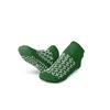 Medline Double-Tread Patient Slippers, Green, Size M MED MDTDBLTREADMH