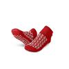 Medline Double-Tread Slippers, Red, S, 1/PR MED MDTDBLTREADSH
