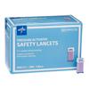 Medline Safety Lancet with Pressure Activation, 28G x 1.8 mm, 2000 EA/CS MED MPHST28