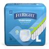 Medline FitRight Extra-Protective Underwear, Large, 20 EA/BG MED MSC13505AZ