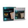 Medline Optifoam Gentle® 4 x 4 Border Adhesive Dressings, 10EA/BX MED MSC2044EPZ