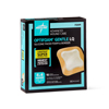Medline Optifoam Gentle Silicone-Faced Foam Dressings with Liquitrap MED MSC2344EP