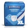 Medline Protection Plus Extended Wear Adult Underwear, X-Large, 48 EA/CS MED MSC53600