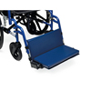 Medline Wheelchair Footrest, 250 lb. Weight Capacity, 18