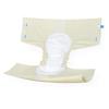 Medline Protection Plus Contoured Adult Briefs, 59-66, 60 EA/CS MED MTB30600