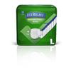 Medline Extended Wear High-Capacity Adult Incontinence Briefs, 45- 59, 15 EA/BG MED MTB80500Z