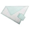 Medline Premium Disposable Polymer Underpads, Green, 30 X 30, 90 EA/CS MED MUP2040P