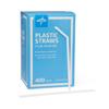 Medline Straw, 7.75, Wrapped, Flex MED NON02325