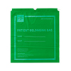 Medline Patient Belongings Bag with Drawstring, 18 x 20, Lime Green, 250 EA/CS MED NON026320LG
