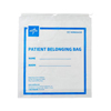 Medline Patient Belongings Bag with Drawstring, 18 x 20, Clear, 250 EA/CS MED NON026330