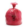 """Hazardous Waste Control: Medline - Liner, Red, 24x33"""", 1.2 Mil, 15G, 250 Each / 10 Roll / Case"""