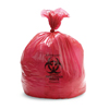 "Hazardous Waste Control: Medline - Liner, Red, 30""x44"", 1.5 Mil, 30 Gal, 100 Each / 10 Roll / Case"