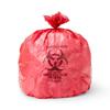 "Hazardous Waste Control: Medline - Liner, Red, 40""x46"", 1.5Mil, 47Gal, 100 per case"