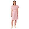 Medline Disposable Patient Gowns, Mauve, Regular/Large MED NON24252