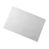 Medline Disposable Paper Bath Mats, White/Blue Print, 21.5