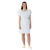 Medline Disposable Patient Gowns, Blue, Regular/Large MED NON24356
