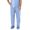 Medline Disposable Scrub Pants, Blue, Medium, 30 EA/CS MEDNON27213M