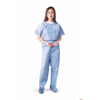 Medline Disposable Scrub Pants, Blue, Small, 30 EA/CS MEDNON27213S