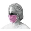 Medline Fluid-Resistant Surgical Face Masks with Eyeshield MED NON27410EL