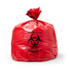 "Hazardous Waste Control: Medline - Liner, Red, 40""x55"", 3 Mil, 55 Gal, 50 per case"