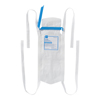 Medline Refillable Ice Bag with Clamp Closure, White, 5 x 12, 4 Ties, 25 EA/BX MED NON4410Z