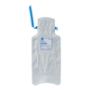 Medline Refillable Ice Bag with Clamp Closure and Hook-and-Loop Straps, White, 6.5 x 14, 30 BG/CS MED NON4460