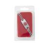 Medline Medical Alert Bracelet Engraved with Diabetic, 7.5, 1/EA MED NON90504H