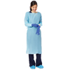 workwear healthcare: Medline - Thumbs Up Polyethylene Isolation Gown