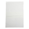 Medline Bag, Zip, White Write On Block, 9x12, 2Mil MEDNONZIP912