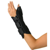 Medline Wrist and Forearm Splint with Abducted Thumb MED ORT18210LM