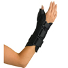 Medline Wrist and Forearm Splint with Abducted Thumb MED ORT18210RL