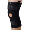 Medline U-Shaped Hinged Knee Supports, Black, Small, 1/EA MED ORT23220S