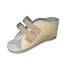 Medline Hook and Loop Post-Op Shoes, Beige, Large, 1/EA MEDORT30200ML