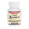 Medline Generic OTC Vitamin A, 8, 000 Indiv Units, Tablets, 90 per Bottle MED OTC117690