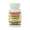 Vitamins OTC Meds Vitamin D: Optimum - Vitamin D-3, 50,000 IU, 24 Capsules per Bottle