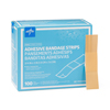 Medline Caring Plastic Adhesive Bandages, Natural, No, 100 EA/BX MEDPRM25500H