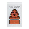 Medline Biohazard Printed 3 Wall Reclosable Bags W/Pouch MED RDPQ604