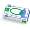 Medline SmartGuard Powder-Free Nitrile Exam Gloves, Blue, Large, 2500 EA/CS MED SG313