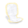 Medline Ultrasoft Cloth-Like Incontinence Liners, Yellow, 14 X 25.5, 96 EA/CS MED ULTRASOFTNORM