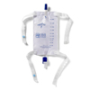 Medline Leg Bag with Flip Drain MED URO5454H