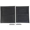 Medline Upholstery, Kit, Black, for 20 Wheelchair MED WCA806927BLKS