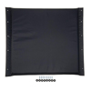 Medline Upholstery, Seat, Wheelchair, Black Nylon, 20 MED WCA806927K4